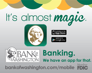 Bank of Washington ad